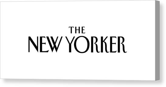 The New Yorker Logo Canvas Print