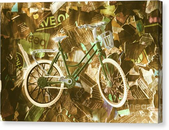 Post-modern Art Canvas Print - The News Cycle by Jorgo Photography - Wall Art Gallery