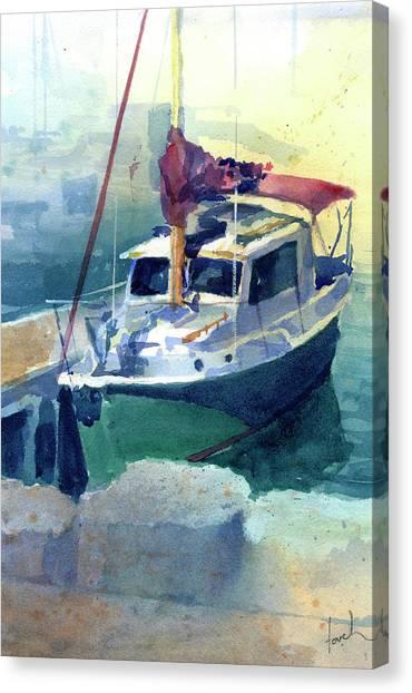 The Nimble Canvas Print