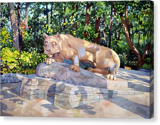 The Nittany Lion Canvas Print