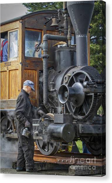 Steam Donkey Canvas Prints   Fine Art America
