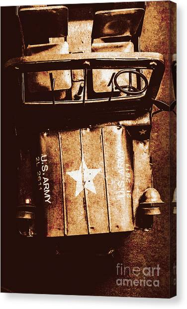 Rusty Truck Canvas Print - The Old Guard by Jorgo Photography - Wall Art Gallery
