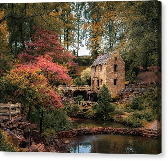 Gone With The Wind Canvas Print - The Old Mill 5x6 by James Barber