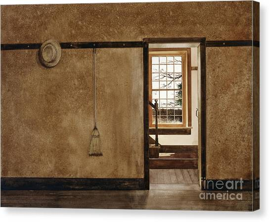 The Outer Hall Canvas Print