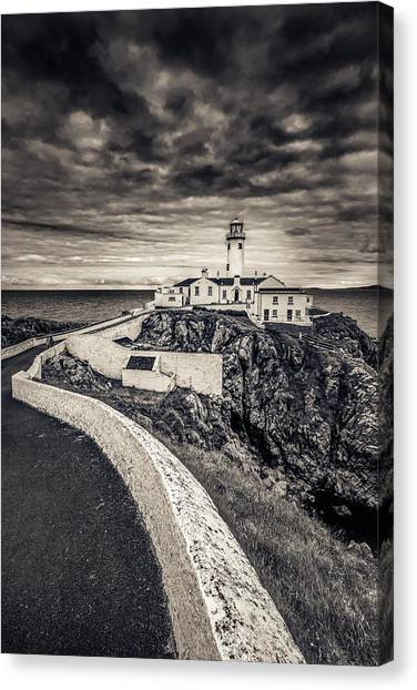 The Path To Fanad Head Lighthouse Canvas Print