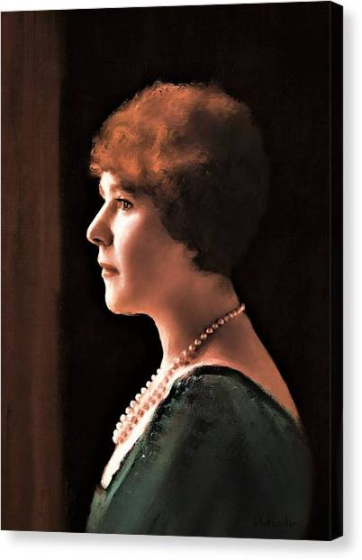 The Pearl Necklace Canvas Print