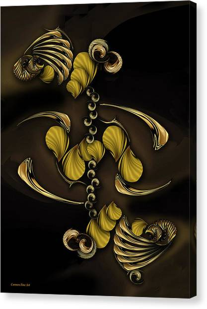 Canvas Print -  The Perceptive Emotion by Carmen Fine Art