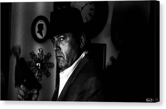 The Private Eye Canvas Print