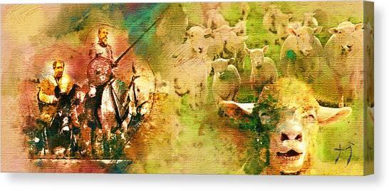 The Quijote Dream Canvas Print