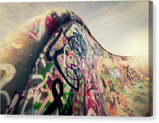 The Ramp Canvas Print by Ppampicture
