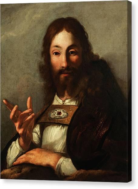 Resurrected Canvas Print - Resurrection Of Jesus by Bernardo Strozzi Cappuccino