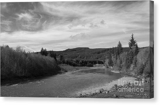 Canvas Print featuring the photograph The River by Jeni Gray