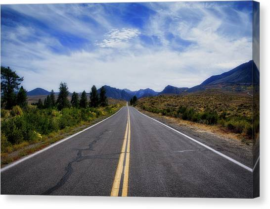 The Road Best Traveled Canvas Print