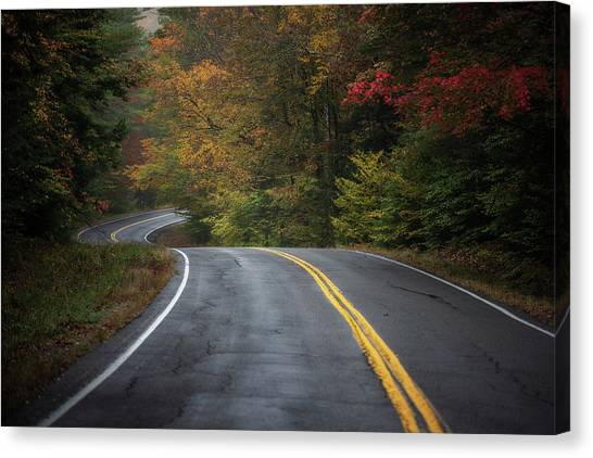 The Road To Friends Lake Canvas Print
