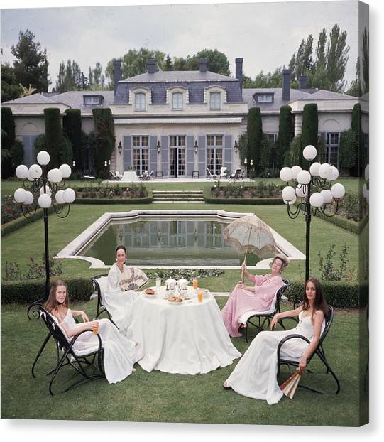 The Romanones Canvas Print by Slim Aarons