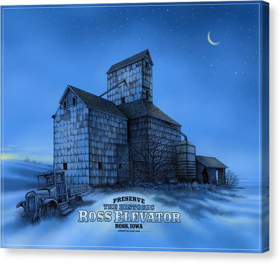 The Ross Elevator Version 3 Canvas Print