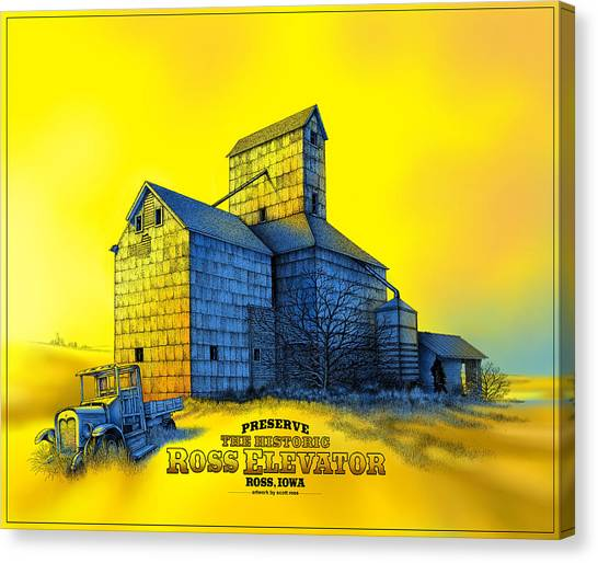 The Ross Elevator Version 4 Canvas Print