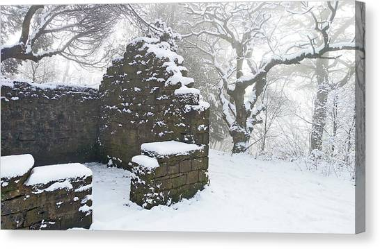The Ruined Bothy Canvas Print