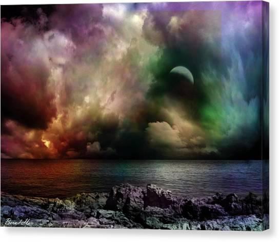 The Sacred Storm Canvas Print