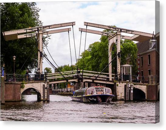 The Skinny Bridge Amsterdam Canvas Print