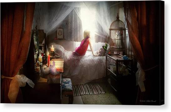 Canvas Print featuring the photograph The Sorcerer's Apprentice by Mike Savad - Abbie Shores