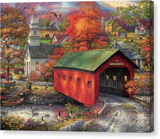 Historic Canvas Print - The Sweet Life by Chuck Pinson