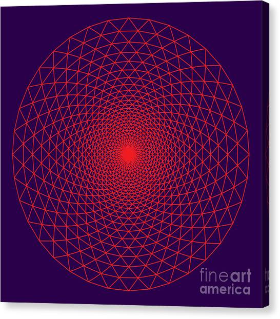 The Thousand Petal Lotus An Important Canvas Print by Imagewriter