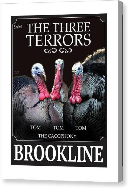 The Three Terrors Canvas Print
