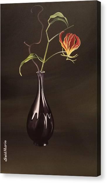 The Vase Canvas Print
