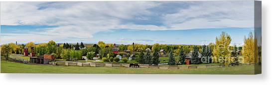 Canvas Print featuring the photograph The View by Brad Allen Fine Art