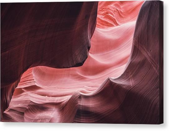 The Wave, Lower Antelope Canyon, Page, Az  Canvas Print