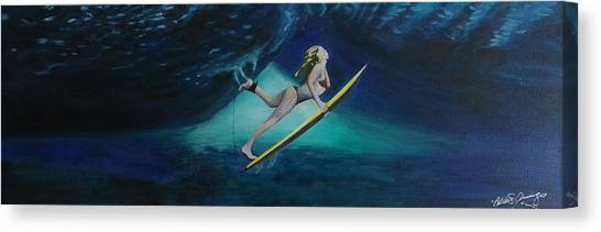 The Wedge - Duck Dive Canvas Print