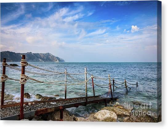 The Winter Sea #2 Canvas Print