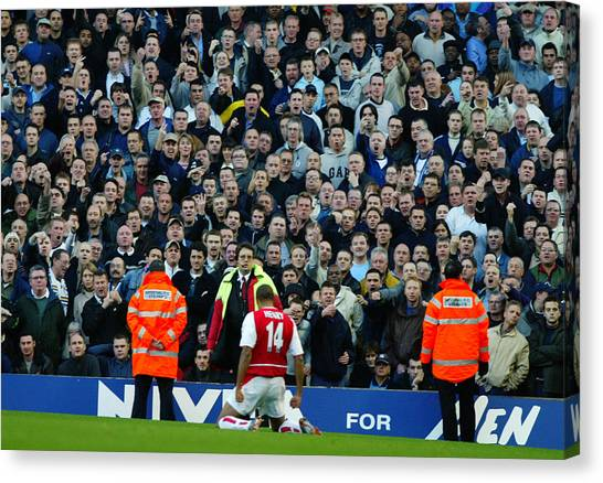 Thierry Henry Of Arsenal Canvas Print