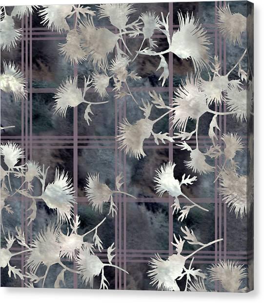 Thistle Plaid  Canvas Print