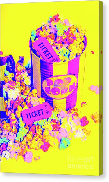 Popcorn Canvas Print - Thrills And Spills by Jorgo Photography - Wall Art Gallery