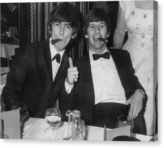 Thumbs Up From Ringo Canvas Print