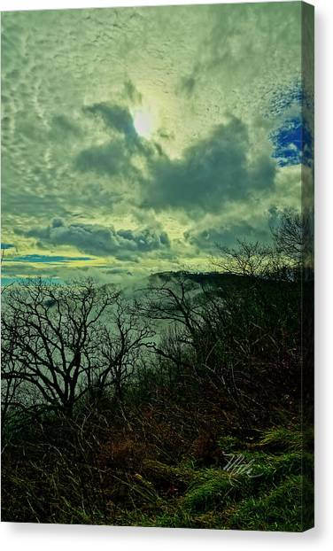 Thunder Mountain Clouds Canvas Print