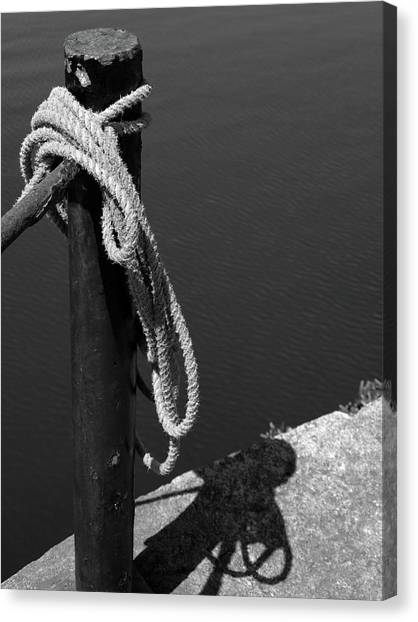 Tied, Rope Canvas Print