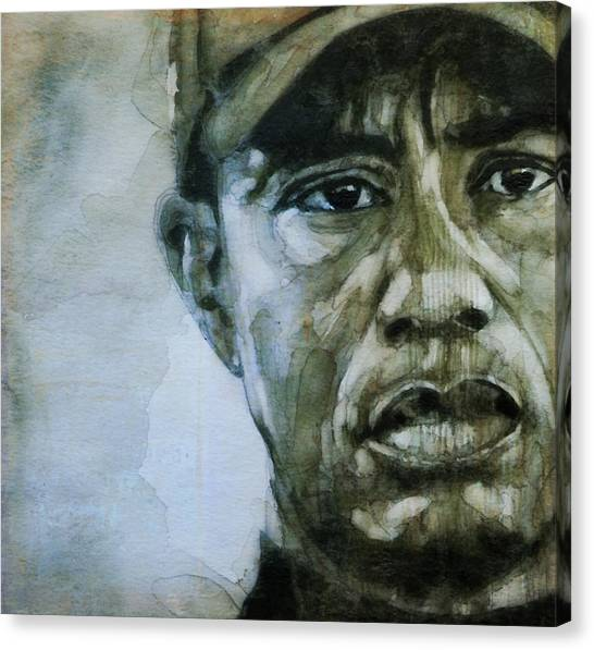 Pga Canvas Print - Tiger Woods - On The Road Again  by Paul Lovering