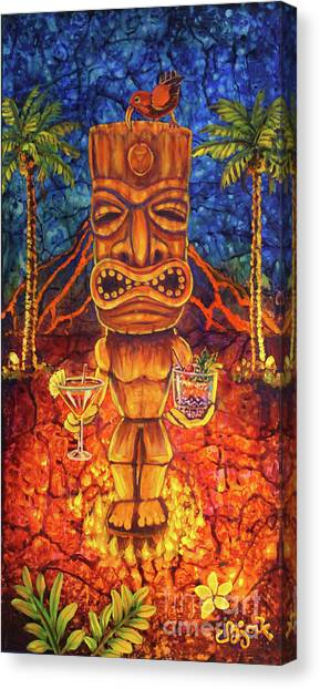 Tiki Cocktail Hour Canvas Print