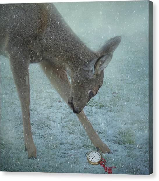 Time For Christmas Canvas Print