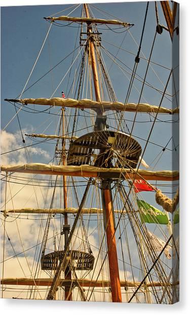 Time To Set Sail Canvas Print