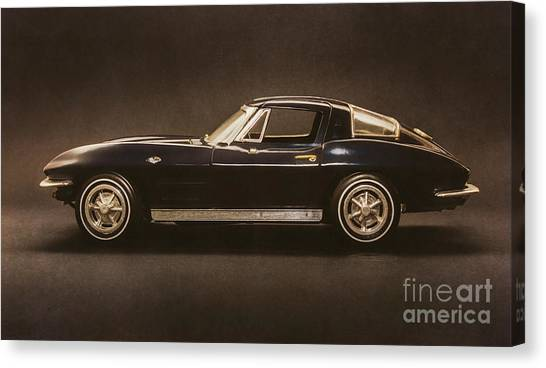 Coupe Canvas Print - Timeless Classic by Jorgo Photography - Wall Art Gallery