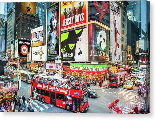 Times Square II Special Edition Canvas Print
