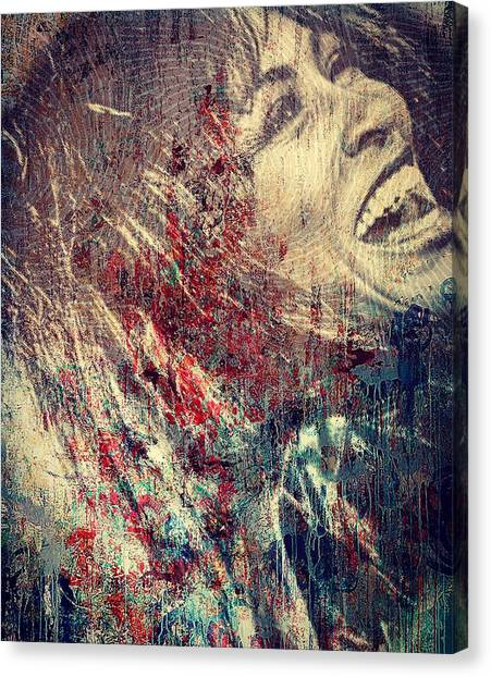 Tina Turner Spirit  Canvas Print