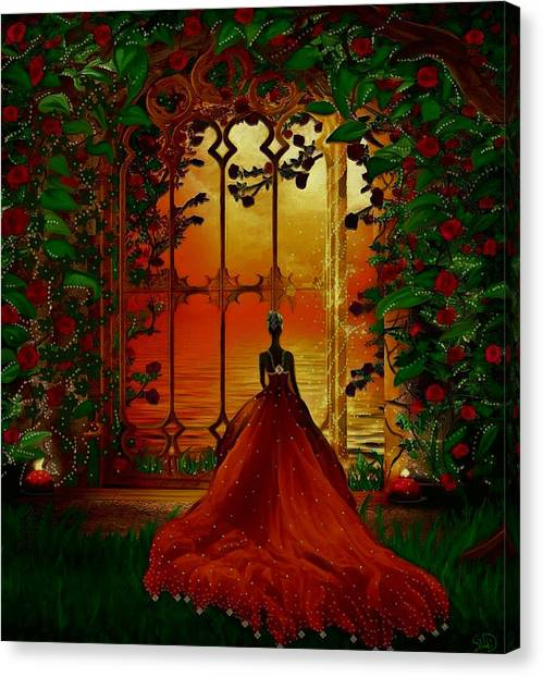 To The Ballroom Canvas Print