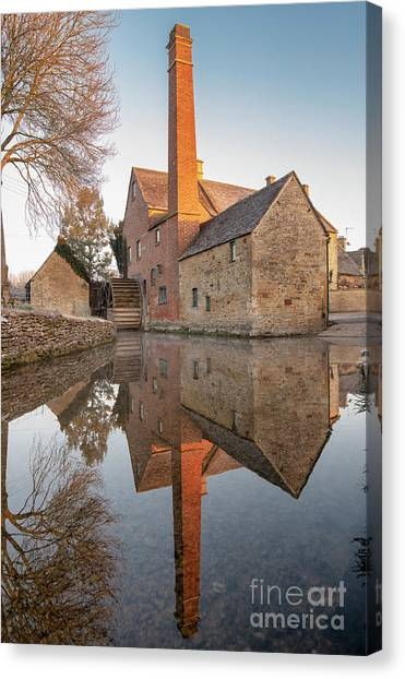 To The Mill Canvas Print by Tim Gainey