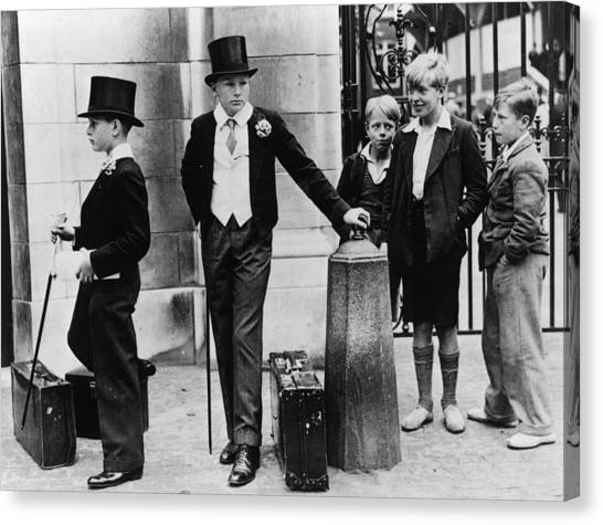 Toffs And Toughs Canvas Print