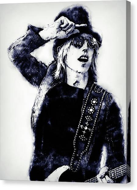 Tom Petty - 30 Canvas Print